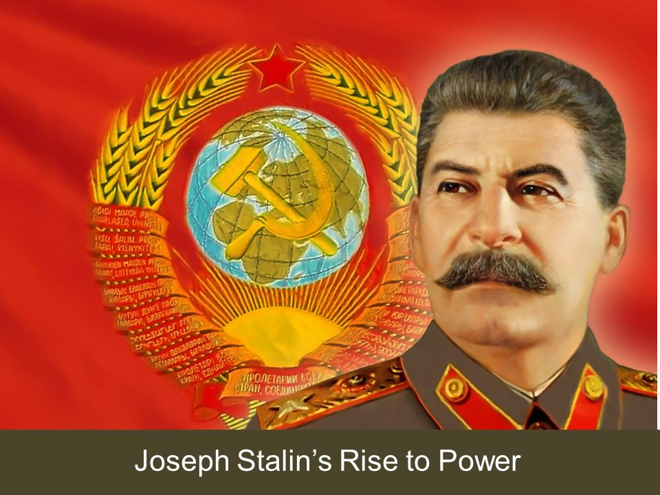 a look at joseph stalins rise to power in russia Start studying wc ch 14 learn vocabulary summarize joseph stalin's rise to power and how his control bolsheviks sign a treaty to take russia out of.