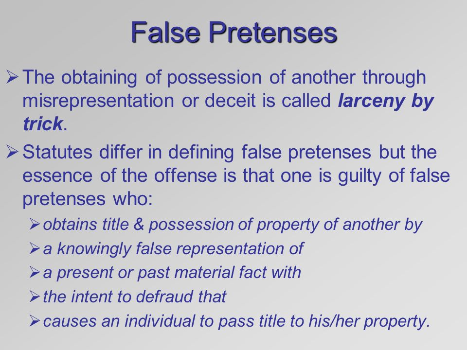 Chapter 13 Crimes Against Property - ppt video online download