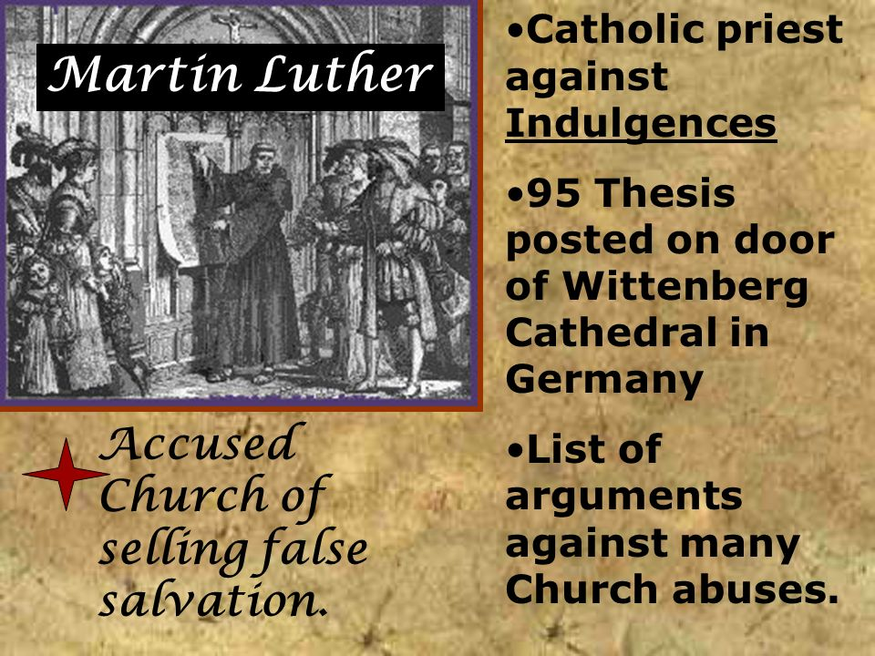 95 thesis and the roman catholic church How did martin luther view the catholic church  read the 95 thesis  former roman catholic who is now a protestant bible believing christian.