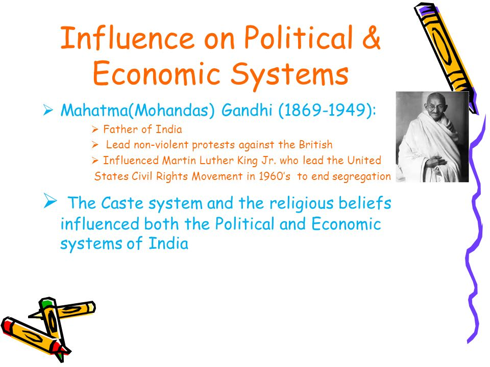 An analysis of the influence of mahatma gandhi in india