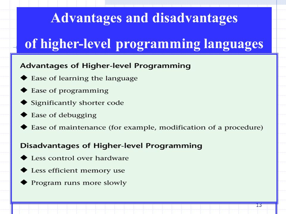 levels of programming languages What exactly are high level and low level programming languages and what does it mean for learning to write code let's start with the definitions of each and go from there.