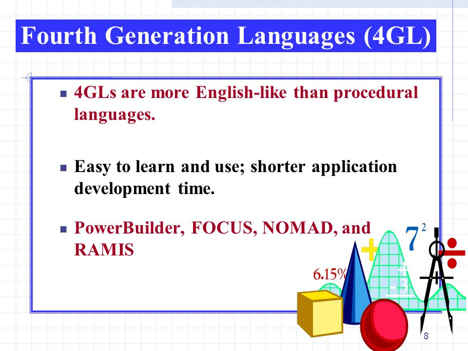 Fourth-generation language (4GL)