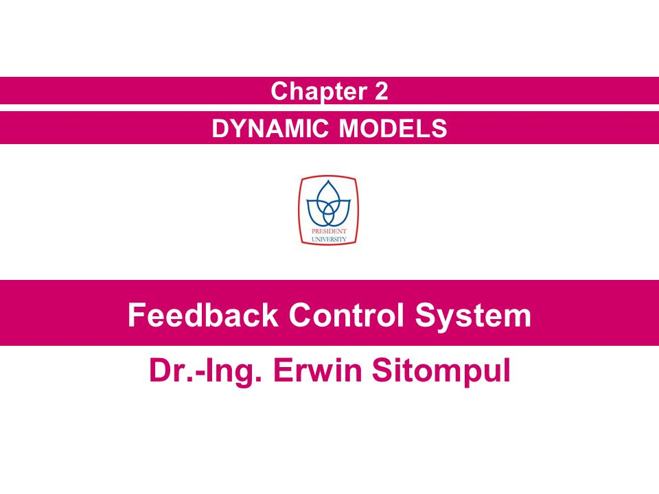 feedback control dynamic system Feedback control of dynamic systems covers the material that every engineer, and most scientists and prospective managers, needs to know about feedback control–including concepts like stability, tracking, and robustness each chapter presents the fundamentals along with comprehensive, worked-out examples, all within a real-world context and with historical background information.