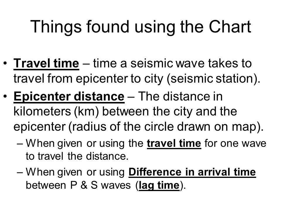 PWave and SWave Chart ppt download – Earthquake P-wave and S-wave Travel Time Worksheet