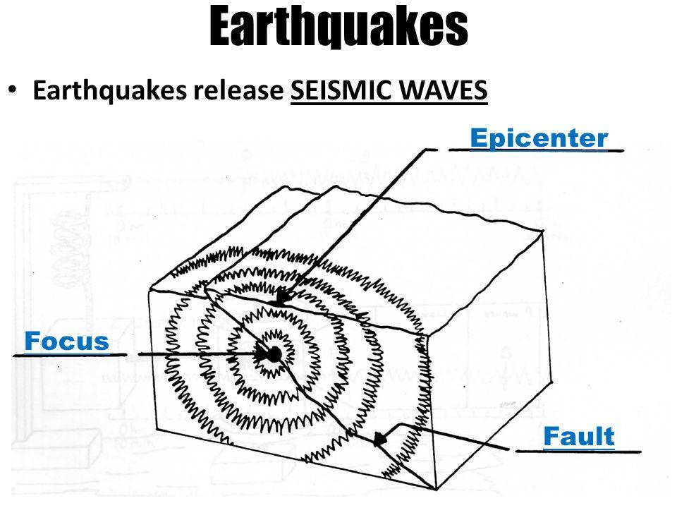 earthquakes in earth u2019s crust