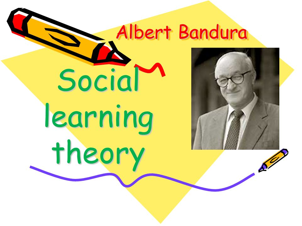 understanding the social learning theory of bandura The influences of bandura's social learning theory have played a major contribution in the academic fields, raising the awareness as well as the importance of.