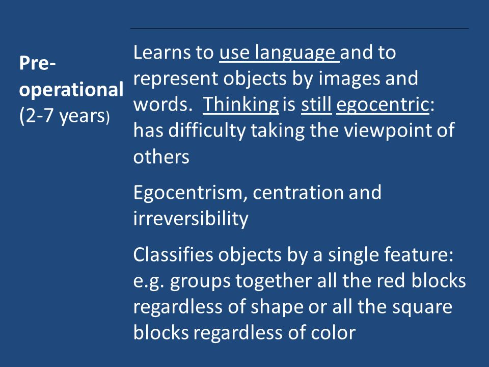 """the main features of piagets theory 1 piaget's theory •the first """"cognitive"""" theory, developed by jean piaget beginning about 1920 •piaget observed and described children at."""