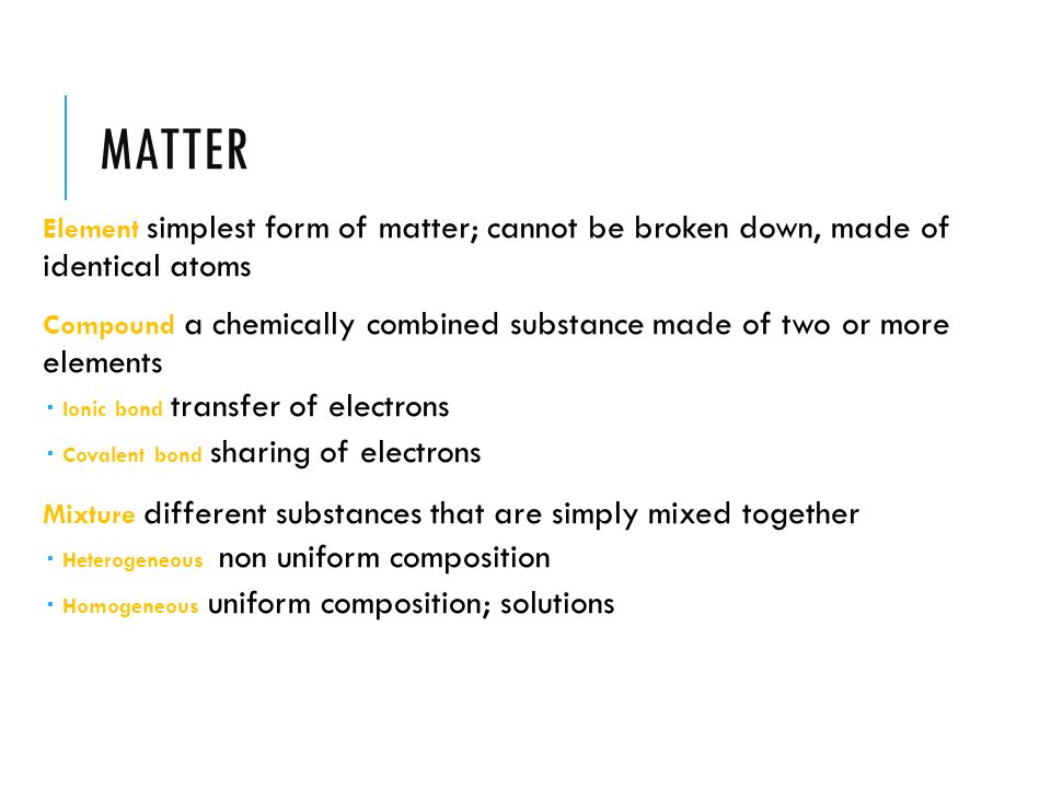 Physical Science EOCT Chemistry Review - ppt download