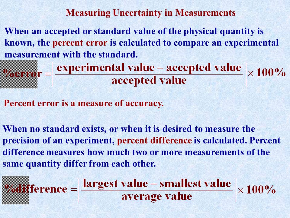 errors uncertainties and measurements 2 essay Experiment 1: errors, uncertainties, and measurements abstract all the measurements that we make are all subject to error.