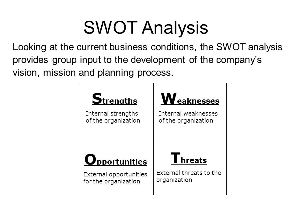corporate structure and culture with internal strength weaknesses Environmental and internal scanning is the next stage in the process managers   strengths and weaknesses are assessed by examining the firm's resources,  while  entails crafting an effective organizational structure and corporate culture.