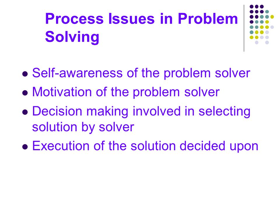 small case studies on decision making and problem solving Quick summary from problem solving and decision making course toyota's 8 step practical problem solving methodology overview - продолжительность: 10:30 gemba academy 291 504 просмотра.