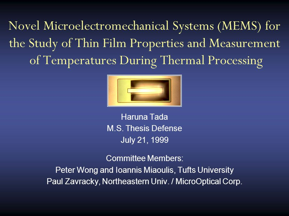 effect of temperature study and measure