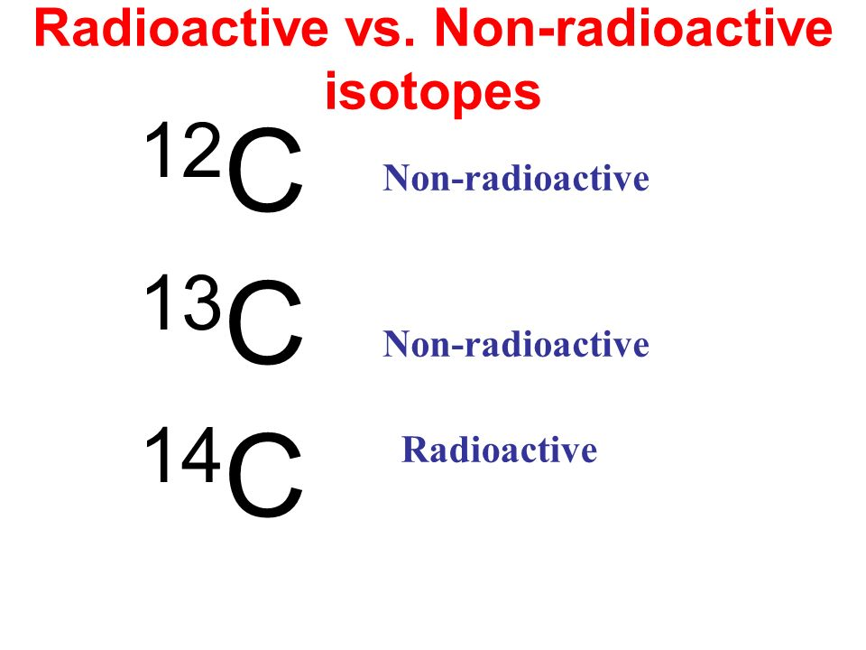 radioactive isotopes I worked with almost all radioactive isotopes for thirteen years and frequently set off alarms in the laboratories at harwell, then in berkshire but now in oxfordshire, england, in the early days (1950's i am now eighty eight and in good health although by thyroid gland, according to my en and t doctor is 'a mess' the main.