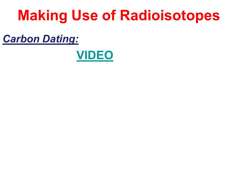 radioisotope dating video funny