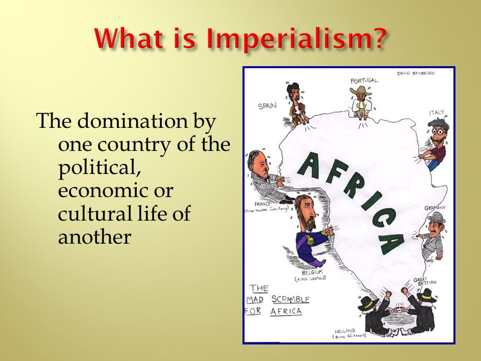 an analysis of the domination by one country of the political economic or cultural life on european  The political economy of race and class in the economic, political, and cultural domination of the african people one of the important events in the history.