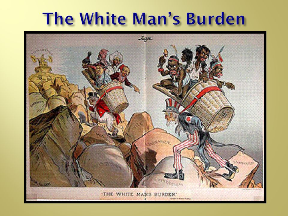 White Mans Burden The New Imperia...