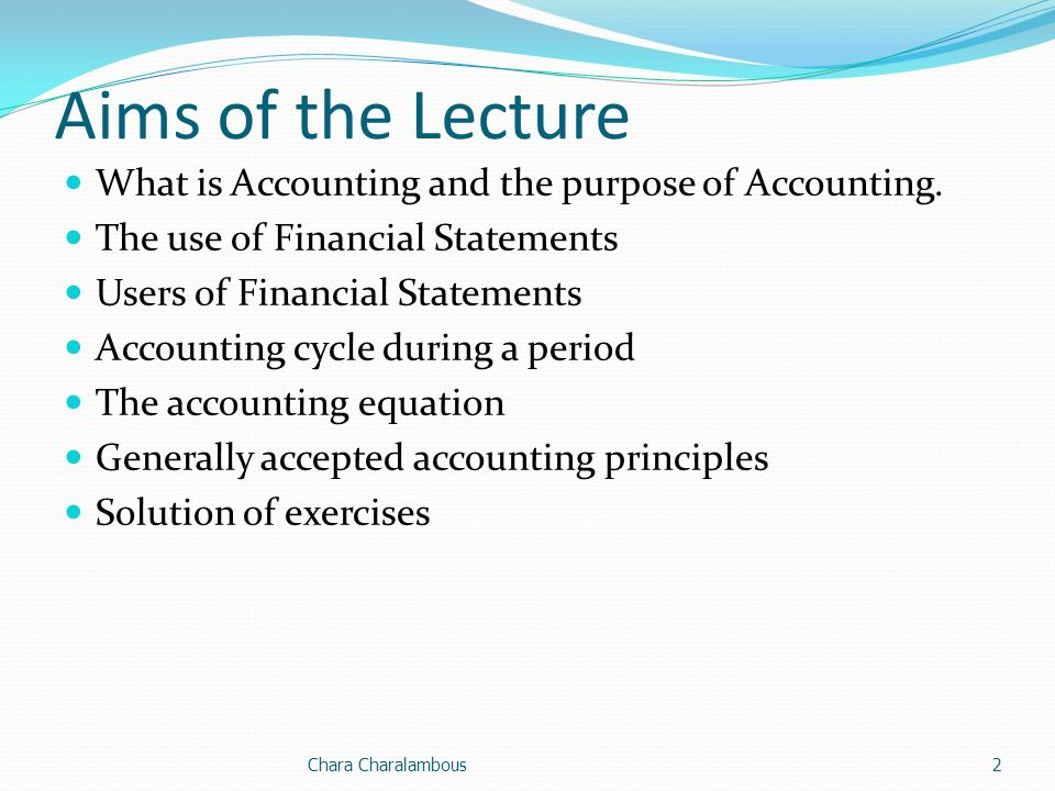 accounting principles lecture example solutions Welcome to the homework assignment page for acct 201 principles of financial accounting please let me know if you experience any problems accessing these assignments by calling me at 786-1662 or.