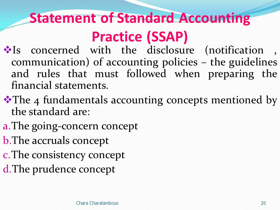 the accruals and going concern concepts Accounting concepts and principles introduction actually there are a number of accounting concepts and principles based  there has been a concern and.