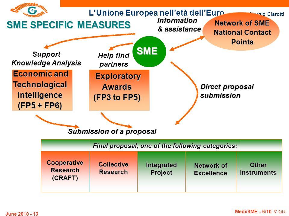 SME SPECIFIC MEASURES SME