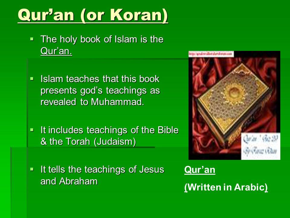 the holy koran vs the holy