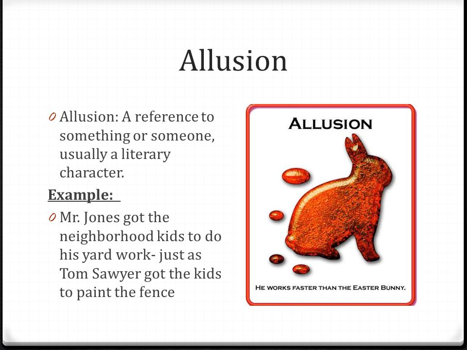 Allusion Examples For Students Choice Image Example Cover Letter