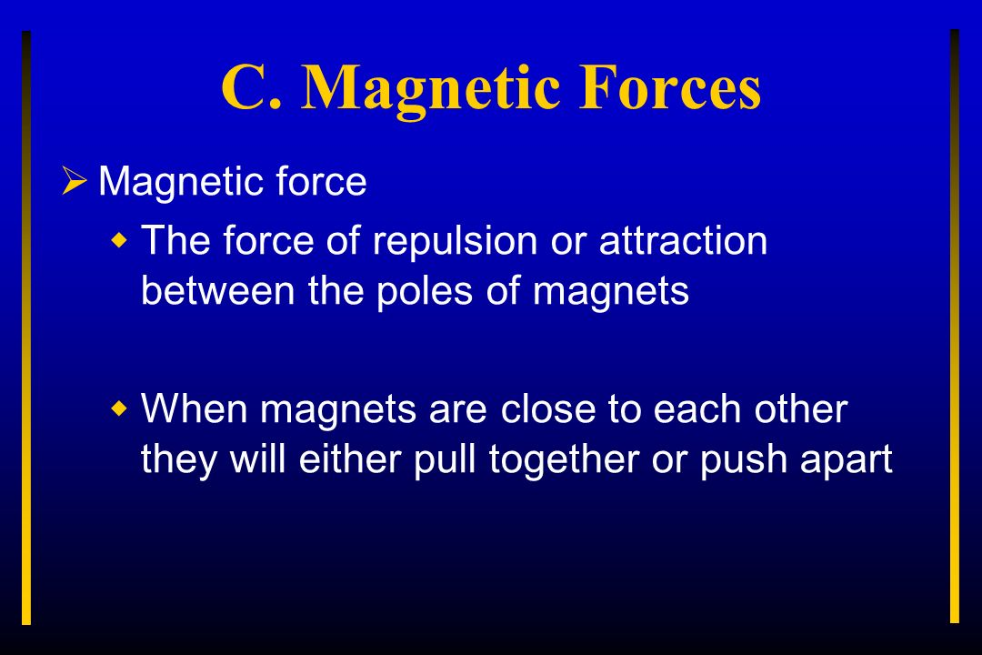 magnetic repulsion force - photo #23