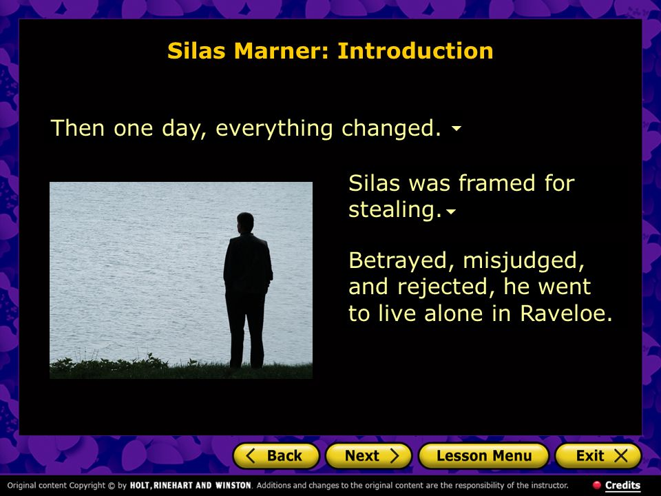difference and similarity of silas marner Freebooksummarycom ✅ there are many evident differences between the  novel silas marner by george elliot and its modernized film translation, a simple .