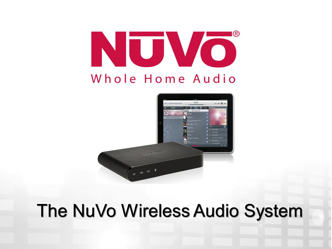 The NuVo Wireless Audio System - ppt video online download