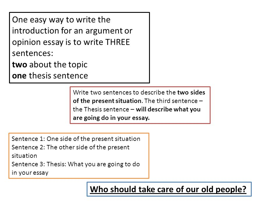 easy topic for argumentative essay