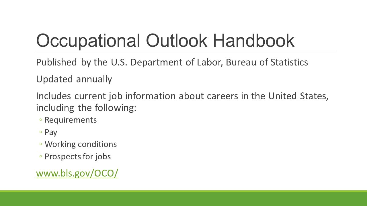 1 1 personal skills and the job market ppt video online download - United states bureau of statistics ...