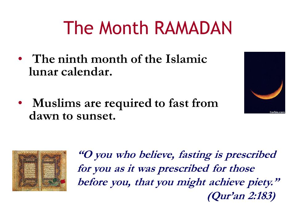 Ramadan And Islam Introduction To The Month Of Fasting For Muslims