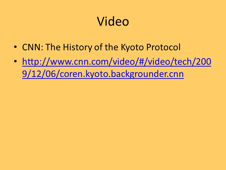 a history of the kyoto protocol A timeline of kyoto protocol events kyoto protocol to reduce greenhouse gases is agreed on the kyoto protocol is a protocol to the united nations framework convention on climate change (unfccc or fccc), aimed at combating global warming.