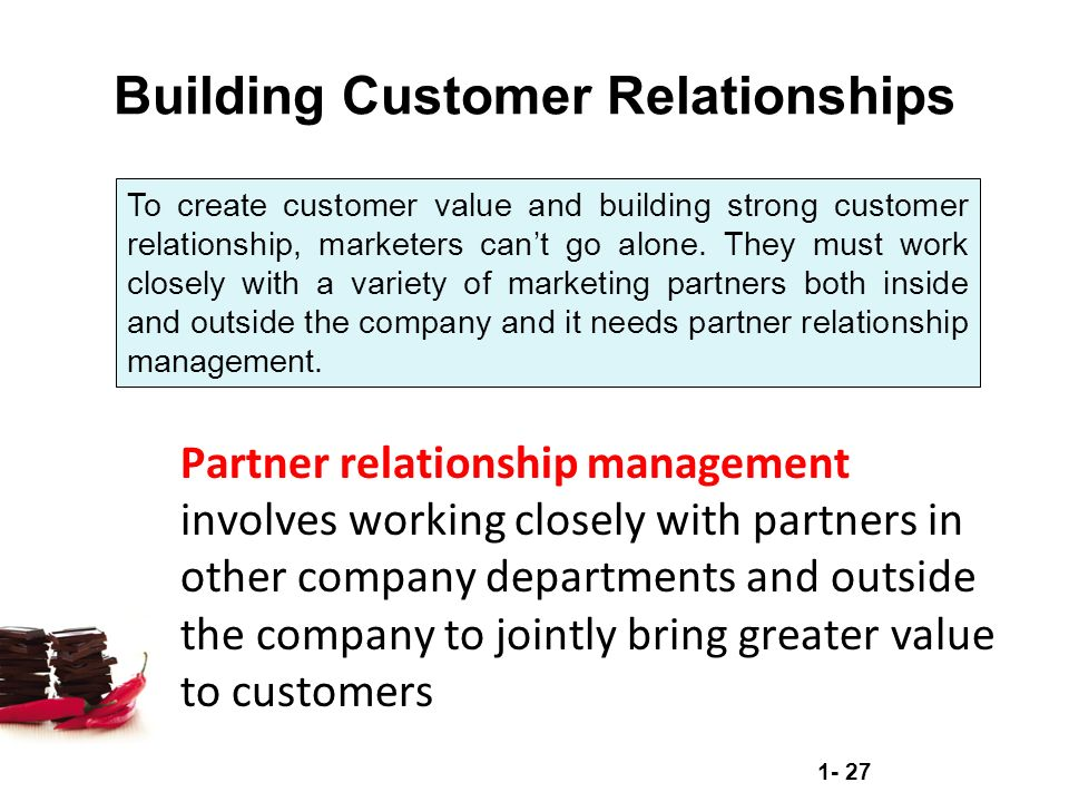 "building working relationships with customers Fast company's ""beyond customer loyalty programs: 7 ways to build lasting relationships"" advises companies to ""make customer relationships a shared responsibility for your entire organization"" after all, every person that your company deals with in a day–in any capacity–could be a potential customer."