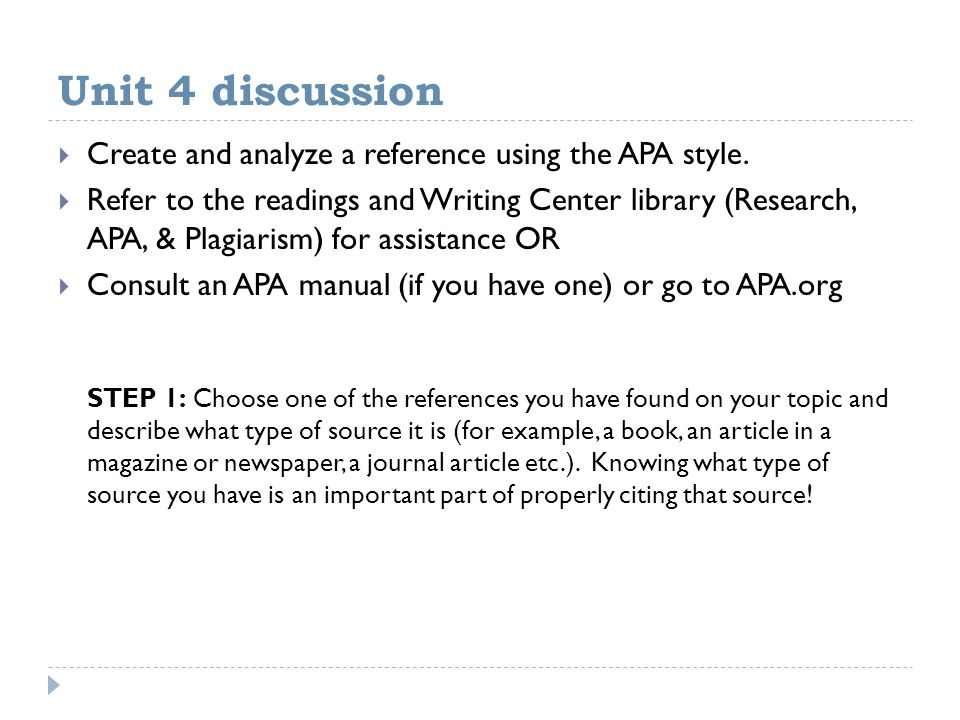 thesis statements  the writing process  and apa citations