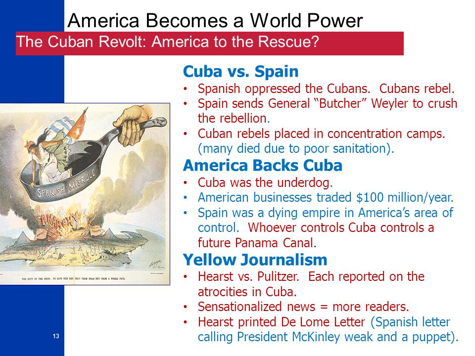 yellow journalism essay Pretend that you a reporter for a yellow journalism newspaper in the late 1800's read the following summaries of three important events in the cuban revolution.