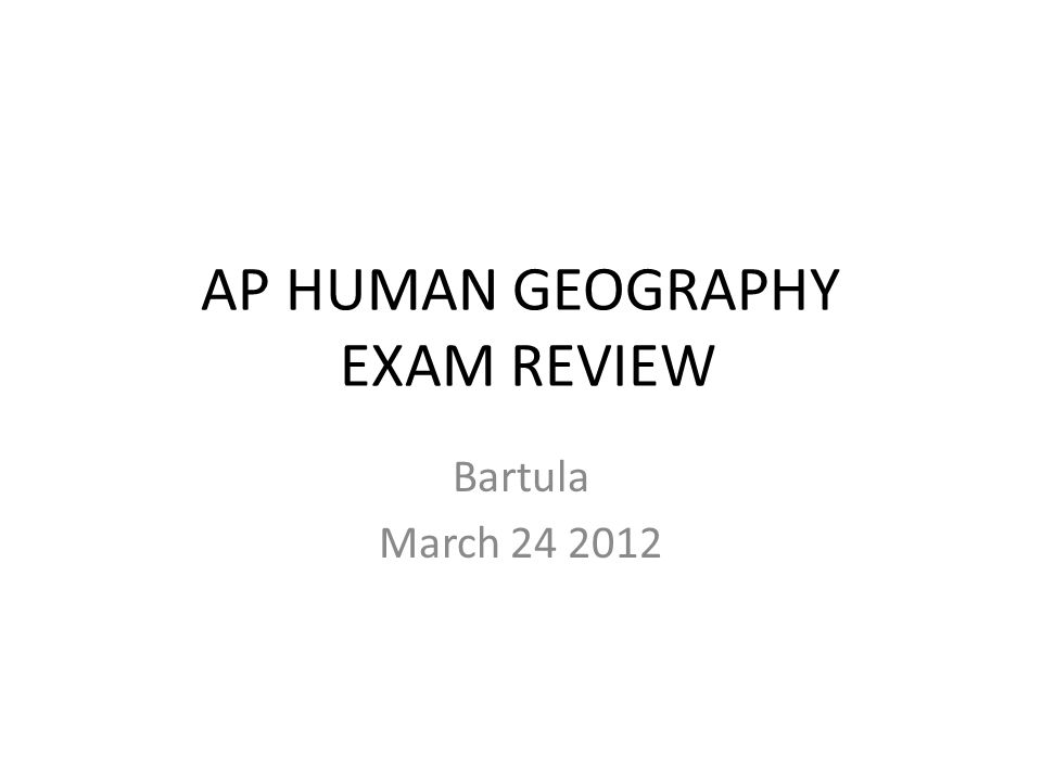 ap human geography exam essays The ap human geography exam consists of two sections the first section consists of 75 multiple choice questions and the second section consists of 3 free-response.
