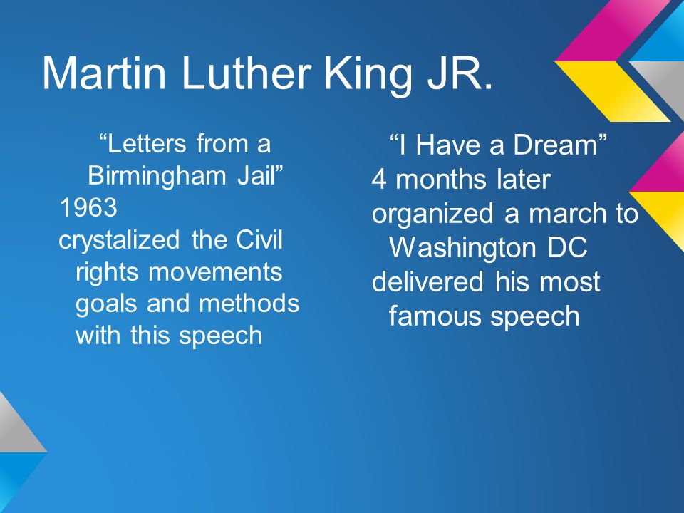 letter to birmingham jail quotes Letter from a birmingham jail: poignant and timely in letter from a birmingham jail some of our most widely recognized quotes from dr martin luther king.