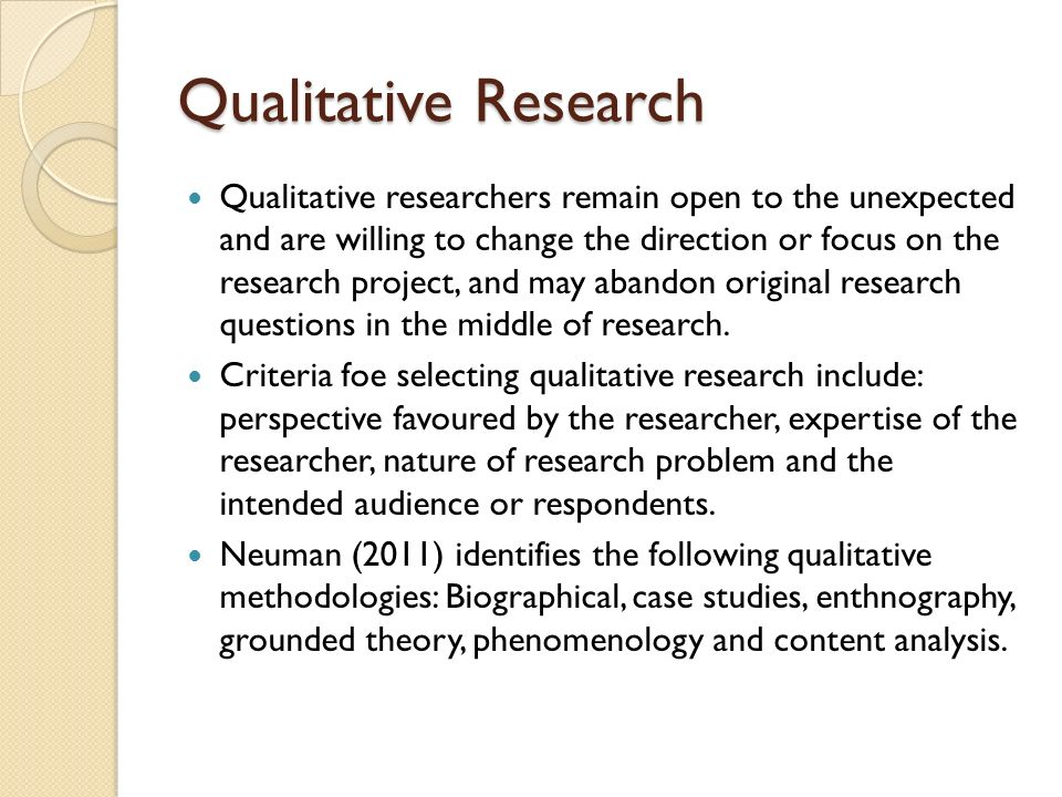qualitative analysis research paper