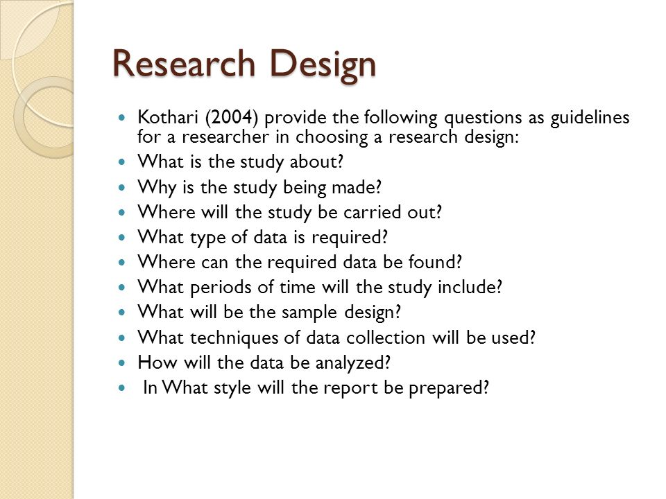 Casual comparative design dissertation