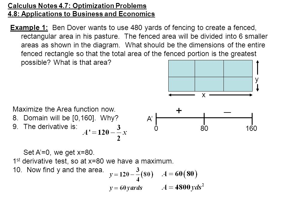 calculus optimization word problems worksheet stinksnthings. Black Bedroom Furniture Sets. Home Design Ideas