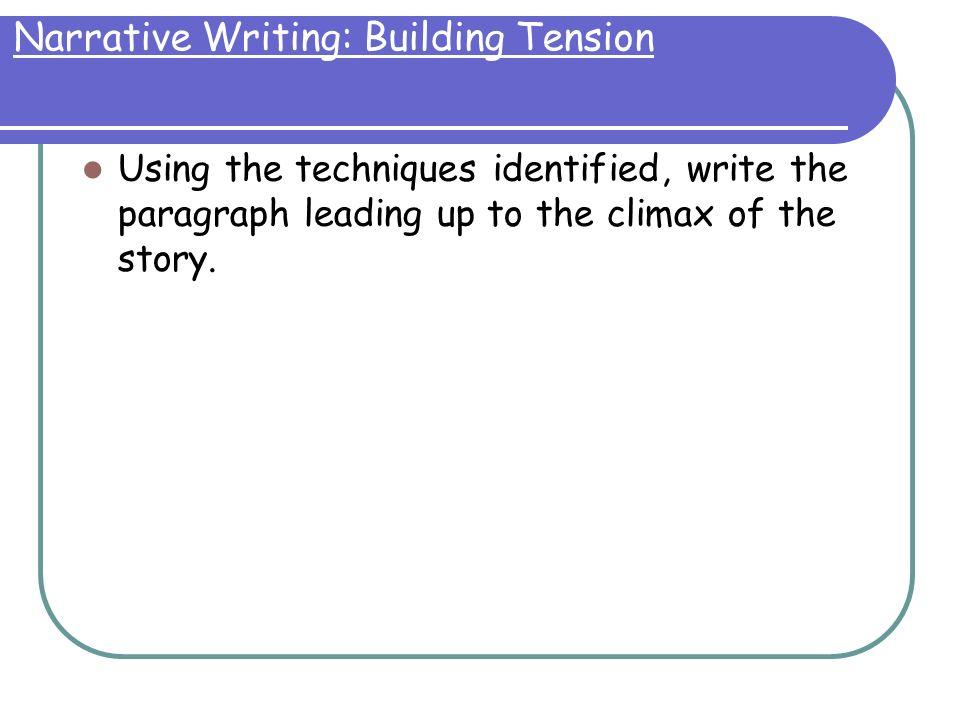 semi narrative essay