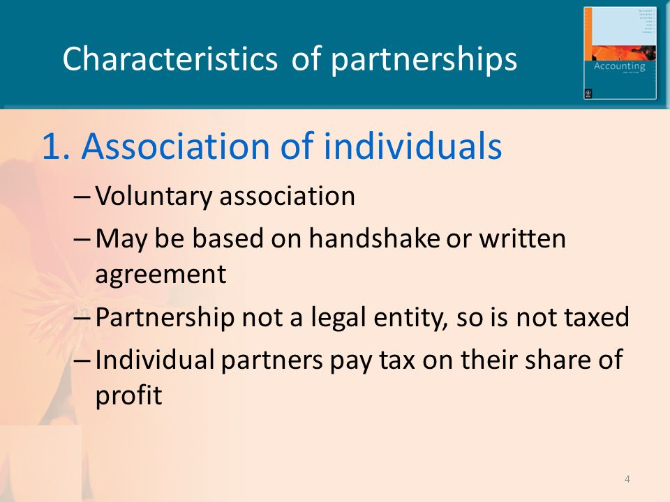 characteristic of partnership Features / characteristics of partnership business are mentioned here in this page to make the topic partnership business very clear.