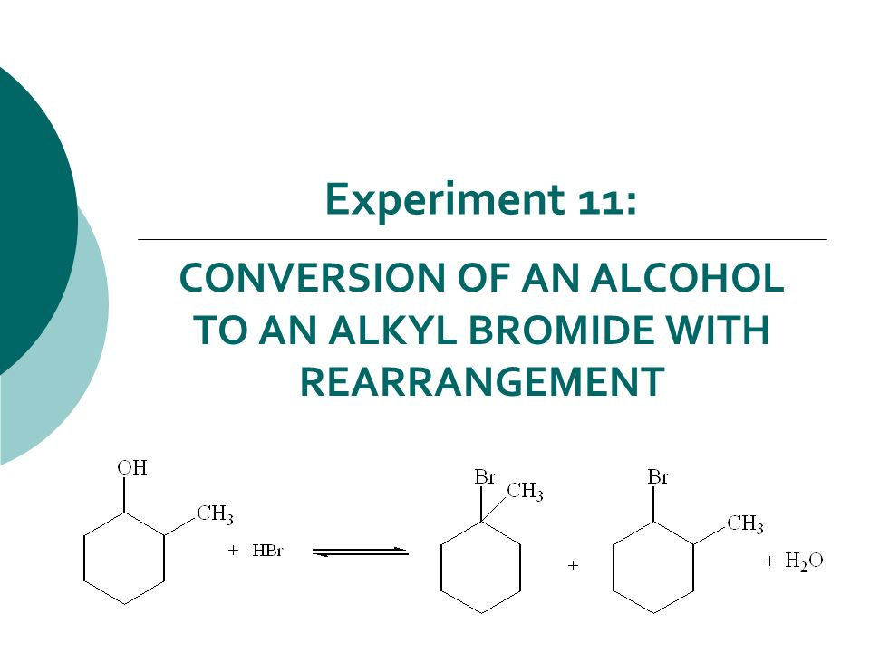 an experiment to determine the identity of alkyl halide In this experiment, t-amyl alcohol will be converted by a sn1  alcohol) is  converted to 2-chloro-2-methyl butane (t-amyl chloride or t-pentyl  if two or more  layers exist in a separatory funnel, you can determine the identity of.