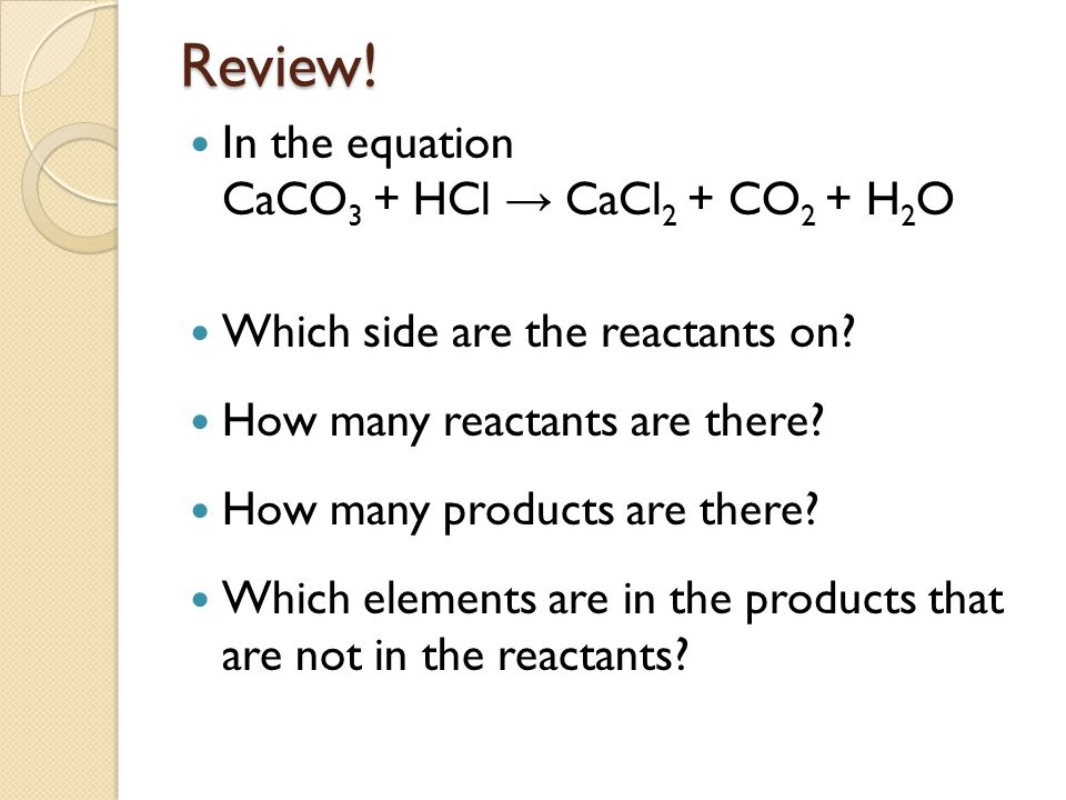 rate of reaction between caco3 and hcl To investigate the rate of reaction between calcium carbonate and hydrochloric the faster the reaction because there would be more hcl to bump' into caco3.