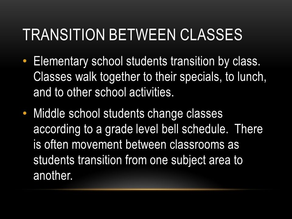 transition from elementary to middle school essay I thought i might make the is up, even though most of the people on this website are in high school.