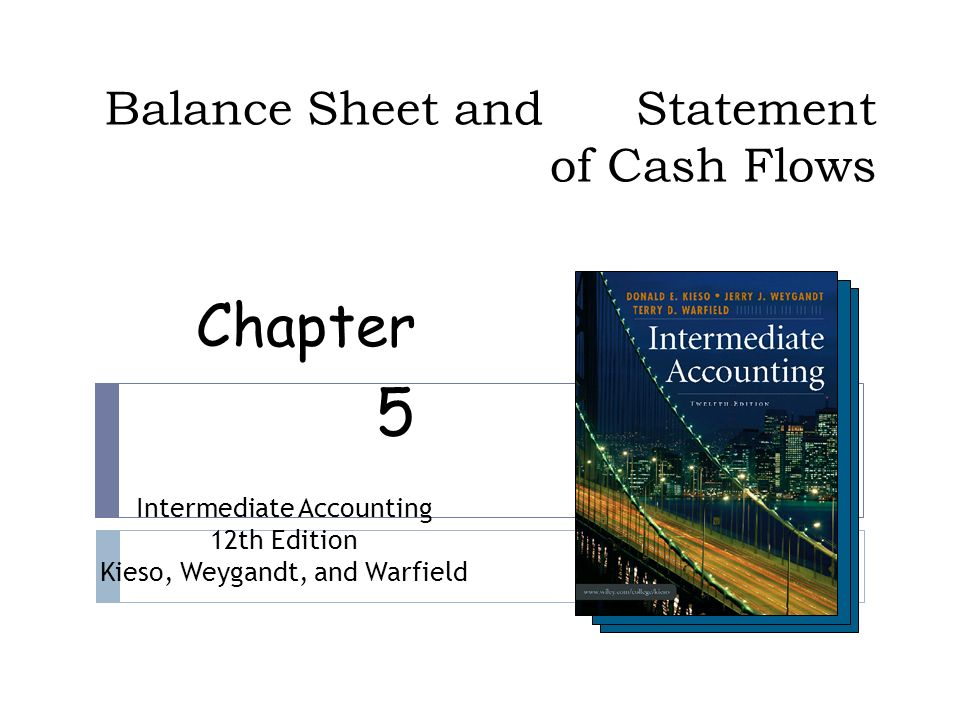 chapter 5 balance sheet and statement