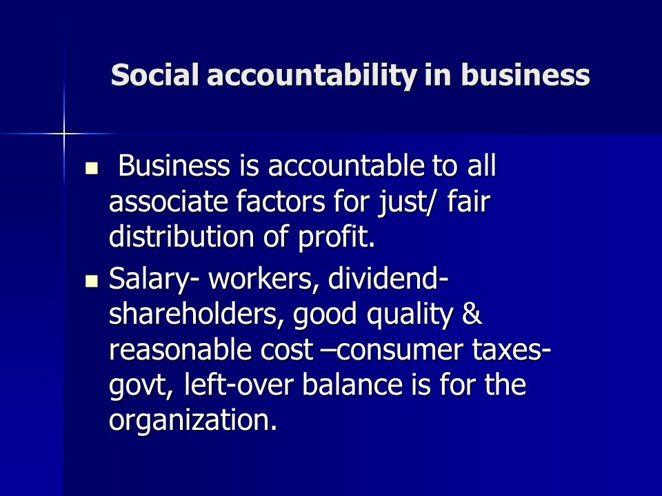an overview of a business