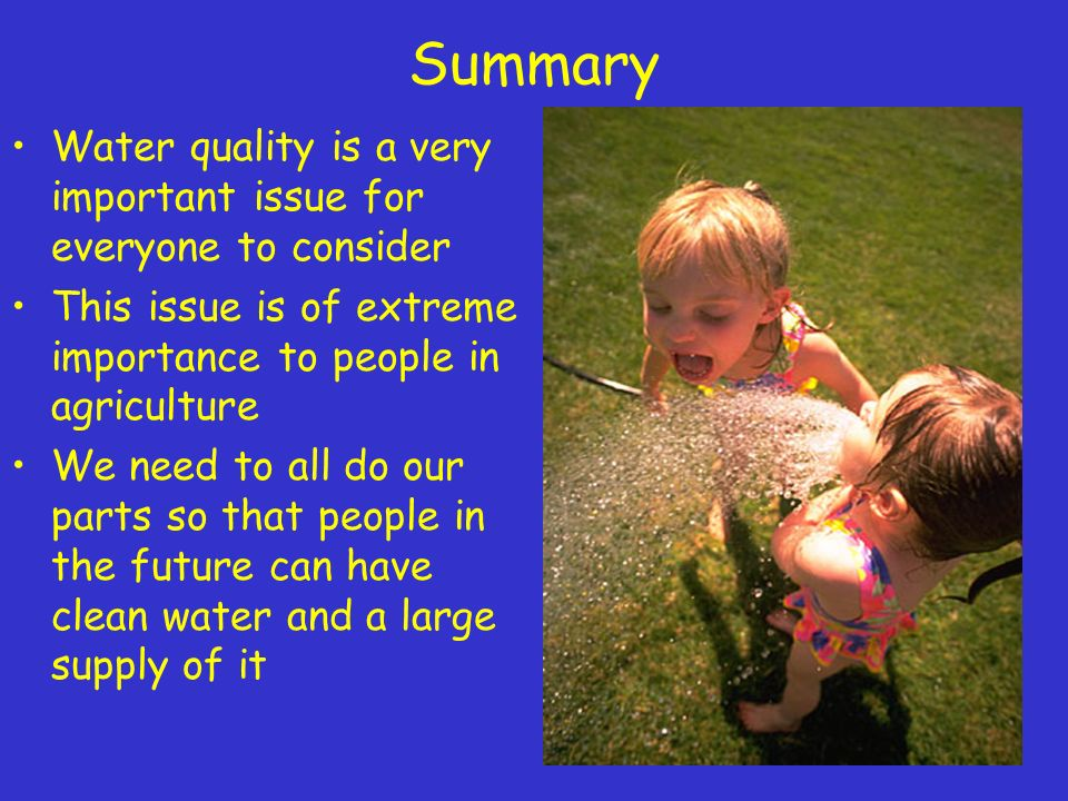importance of fresh water in humans life 28032018 how important is soil to human life on  this too illustrates the importance of soil to human life  is it possible for humans to live without the.