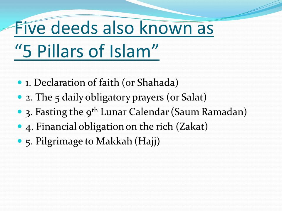 Introduction to Islam Meaning of Islam - ppt video online ...