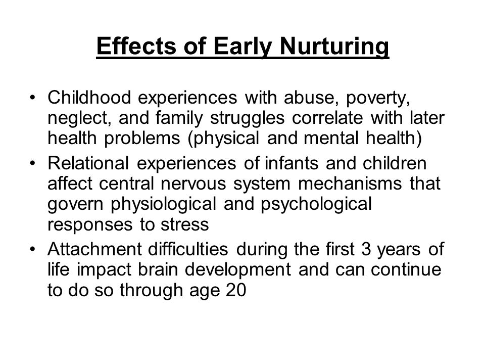 the impact of nurture Walker, louise clare (2010) the impact of nurture group interventions : parental  involvement and perceptions dedcpsy thesis, university of.